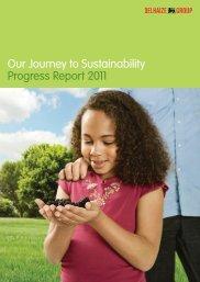 Delhaize Sustainability Progress Report 2011 - Award for Best ...