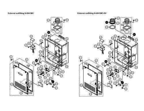 external outfitting n 0841mc external outfitting n 0841mc dv air conditioning diagrams noritz plumbing diagram #4