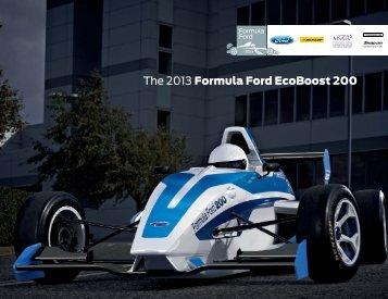 The 2013 Formula Ford EcoBoost 200 - British Formula Ford