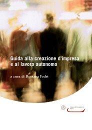 Guida alla creazione di impresa e al lavoro ... - CCIAA di Pavia