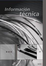 Información técnica - Cables Epuyen SRL