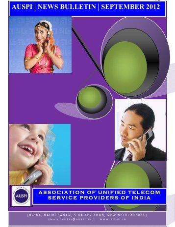 AUSPI News Bulletin - September 2012 - Auspi.in