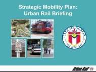 Strategic Mobility Plan: Urban Rail Briefing - The Greater Austin ...