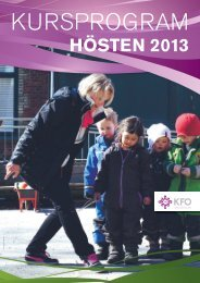 urskatalog, hösten 2013 - Arbetsgivarföreningen KFO
