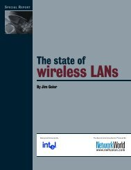 The state of wireless LANs - Network World