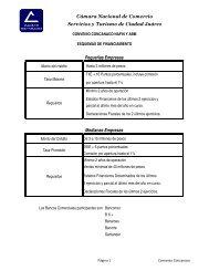 Convenio Concanaco Nafin.xlsx - Camara Nacional de Comercio ...