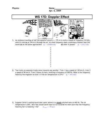Worksheet 16b