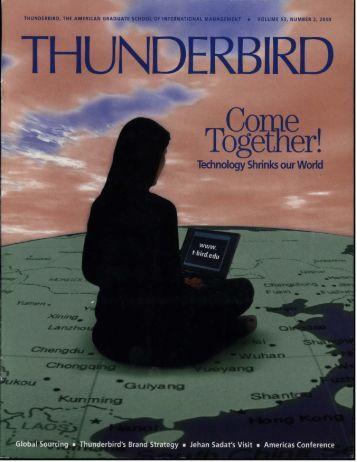 Spring 2000 - Thunderbird Magazine