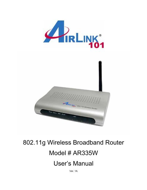 AIRLINK101 AR420W DRIVERS PC