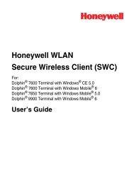 Honeywell WLAN Secure Wireless Client (SWC) - Finn-ID