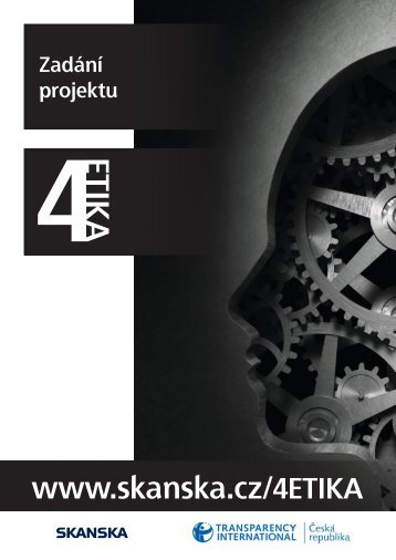 Zadání projektu 4ETIKA - Transparency International