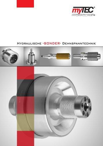 Katalog hydraulische Dehnspanntechnik - STENZEL Werkzeugtechnik