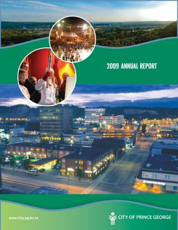 Book - 2009 Annual Report.indb - City of Prince George