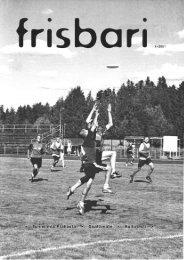 Frisbari 1/2001 - Ultimate.fi