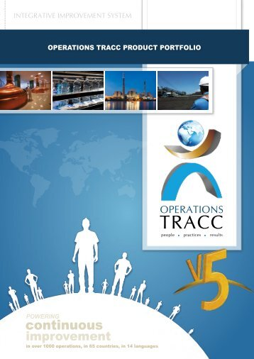 Overview - TRACC - Powering Continuous Improvement