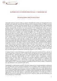 1° trimestre 2012 - CCIAA di Pavia