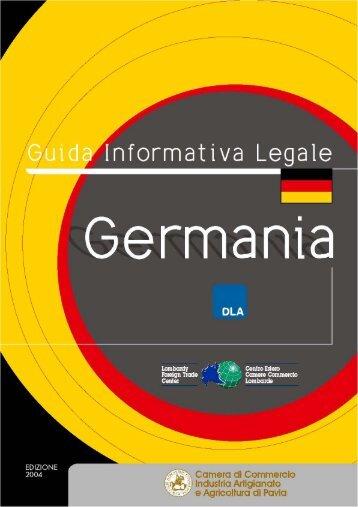 Germania - Camera di Commercio Pavia