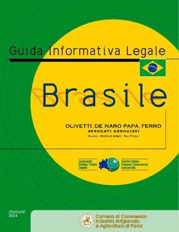 Brasile - CCIAA di Pavia - Camera di Commercio