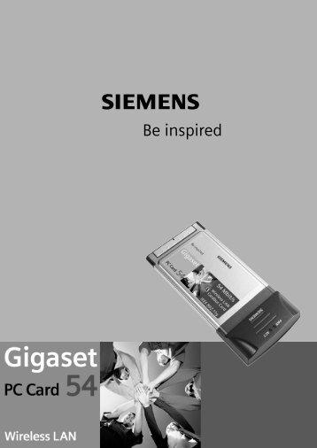 The Gigaset PC Card 54 - DLG Tele