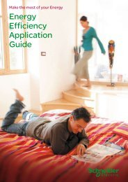 Energy Efficiency Application Guide - Schneider Electric