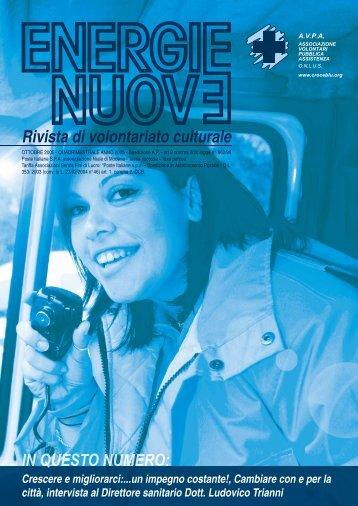 Rivista di volontariato culturale - ANPAS Provincia di Modena