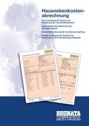 98151 - Prospekt Hausnebenkosten.indd - BRUNATA Hürth