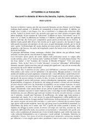 ATTUORNU A LU FUCULINU - Morreseemigrato.ch