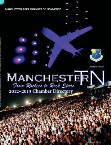 Manchester Area Chamber Of Commerce • 2012 - 2013 Resource ...