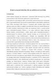 prog_ hod_czerw_bialej - Polska Federacja Hodowców Bydła i ...