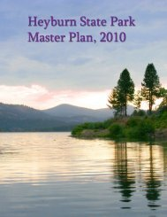 2009 Heyburn Master Plan.indd - Idaho State Parks and Recreation ...