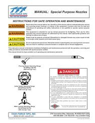 Special Purpose Nozzles pdf - Task Force Tips