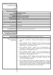 Curriculum Vitae Europass - Comune di Desenzano del Garda