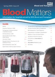 Issue 24 2008 (PDF, 1234K) - National Blood Service