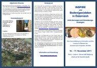 Programm INSPIRE und Bodengeodaten in Österreich - 385 kB