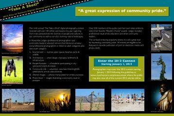 """""""A great expression of community pride."""" - City Of Ventura"""