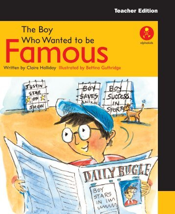The Boy Who Wanted to be Famous