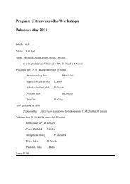 "Program ""aludových dnù 2011"