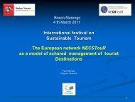 International festival on Sustainable Tourism - Lamoro
