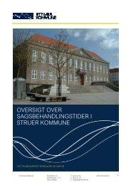 Sagsbehandlingsfrister_revideret januar 2012.pdf - Struer kommune