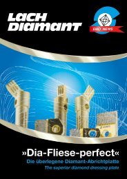 Dia-Fliese-perfect« - Lach Diamant