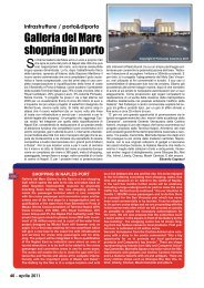 Galleria del Mare shopping in porto - Porto & diporto