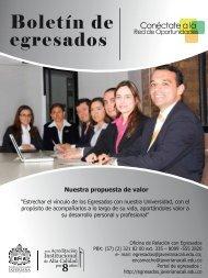 Boletín mes octubre - Pontificia Universidad Javeriana, Cali