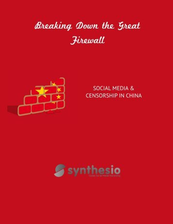 Social media and censorship in China - Synthesio
