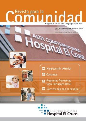 Revista para la Comunidad - Hospital El Cruce
