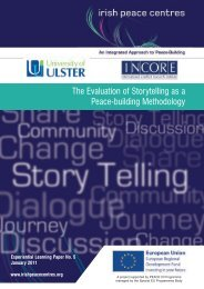 The Evaluation of Storytelling as a Peace-building Methodology