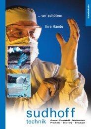 ... wir schützen Ihre Hände - sudhoff technik GmbH