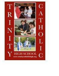 Information - Trinity Catholic High School