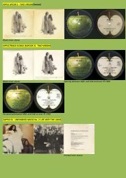 APPLE APCOR 2 - John Lennon and Yoko Ono - applerecords.nl
