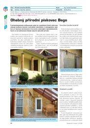 Ohebný přírodní pískovec Bego - Stavebnictví a interiér