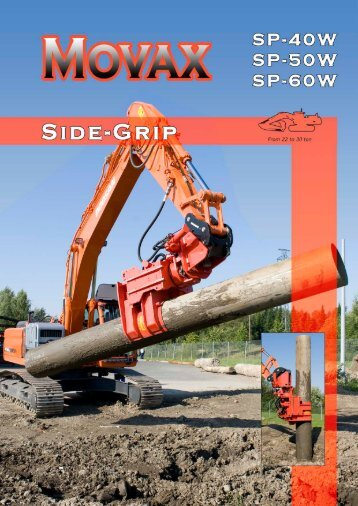 Side-Grip Tube Drivers - Movax